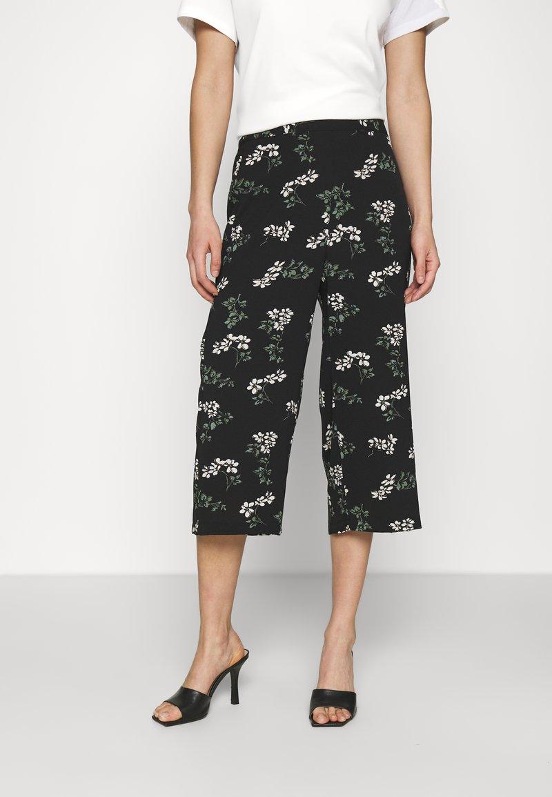 Vero Moda - VMSAGA CULOTTE PANT - Bukse - black
