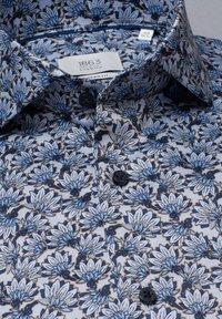 Eterna - MODERN FIT - Shirt - hellblau/marine - 5
