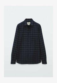 Massimo Dutti - SLIM FIT - Shirt - dark blue - 2