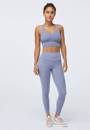 COMFORTLUX  - Leggings - light blue