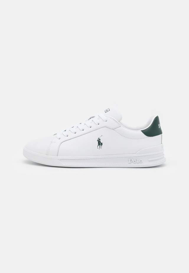 Sneakers laag - white/college green