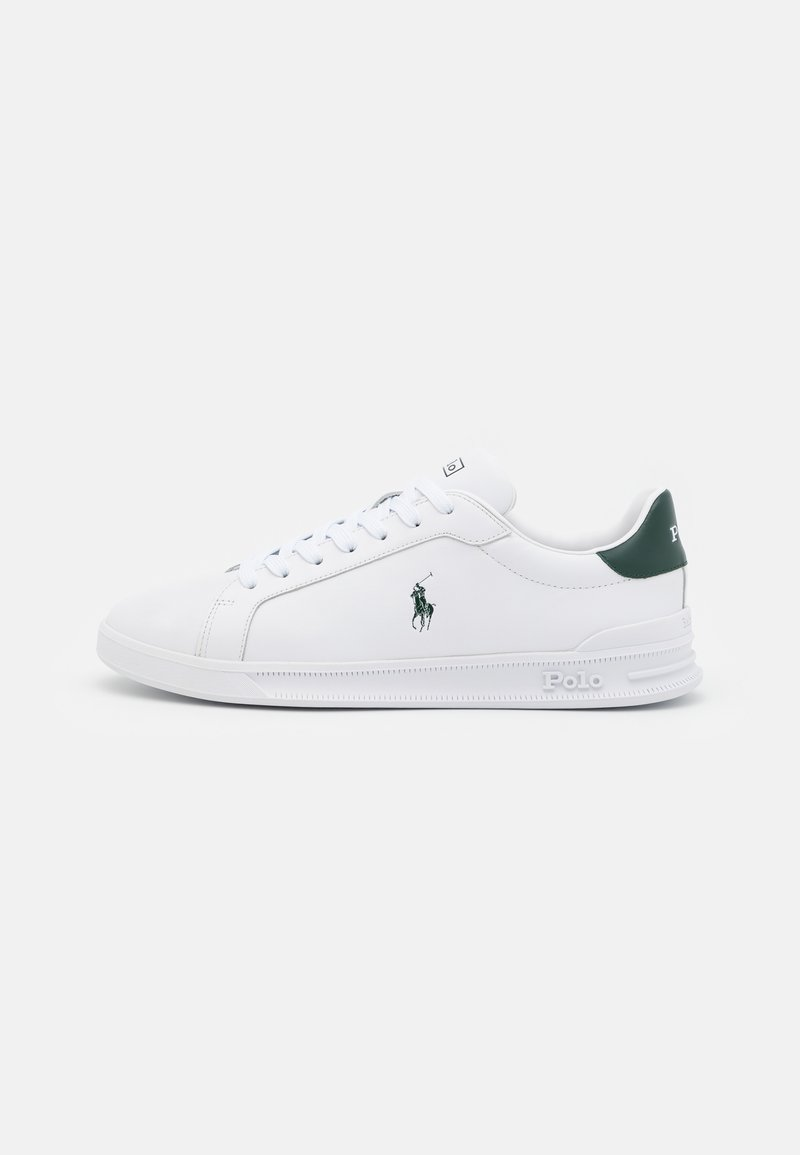 Polo Ralph Lauren - UNISEX - Matalavartiset tennarit - white/college green