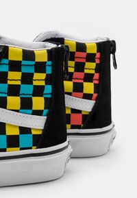 Vans - SK8 ZIP UNISEX - High-top trainers - black/multicolor - 5