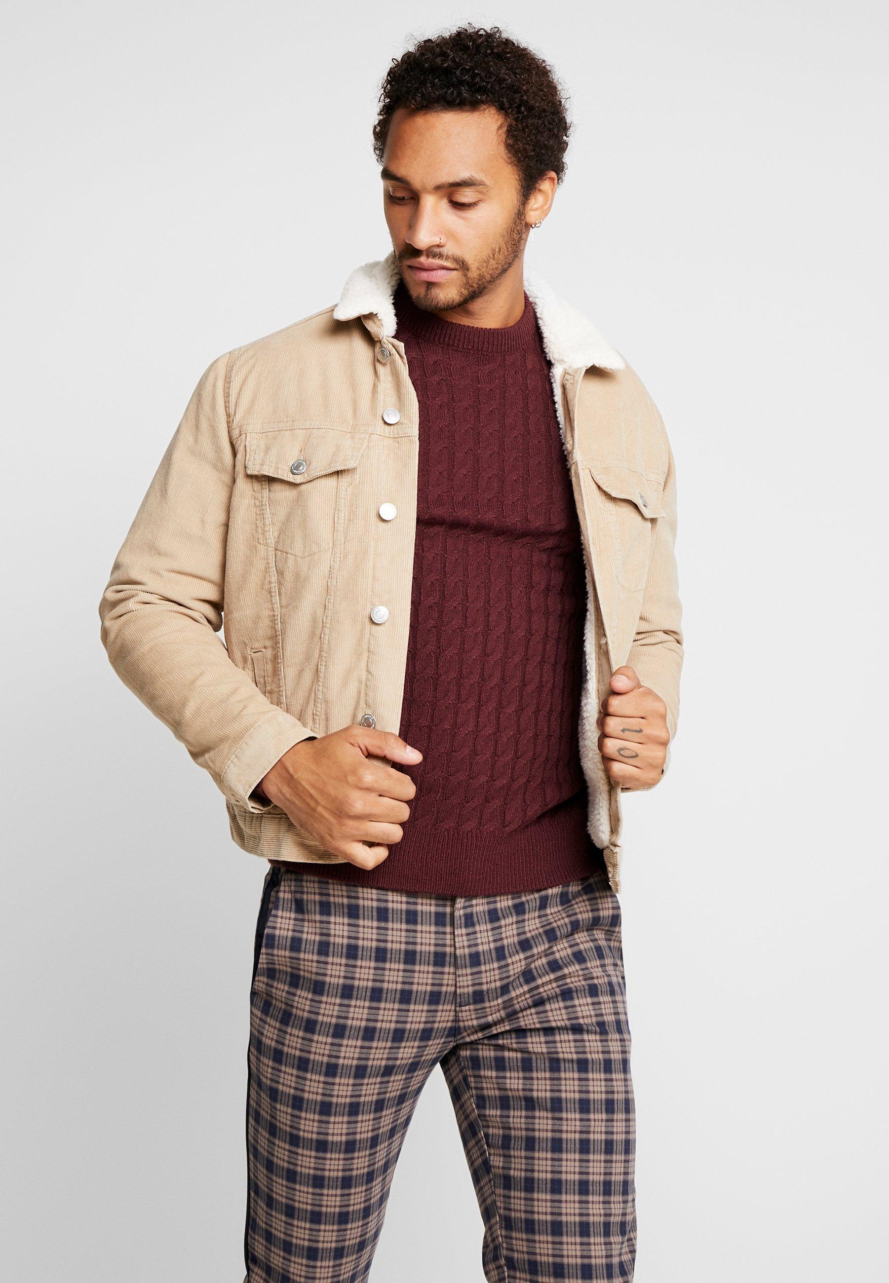 New Look BORG WESTERN Lett jakke ecru Zalando.no