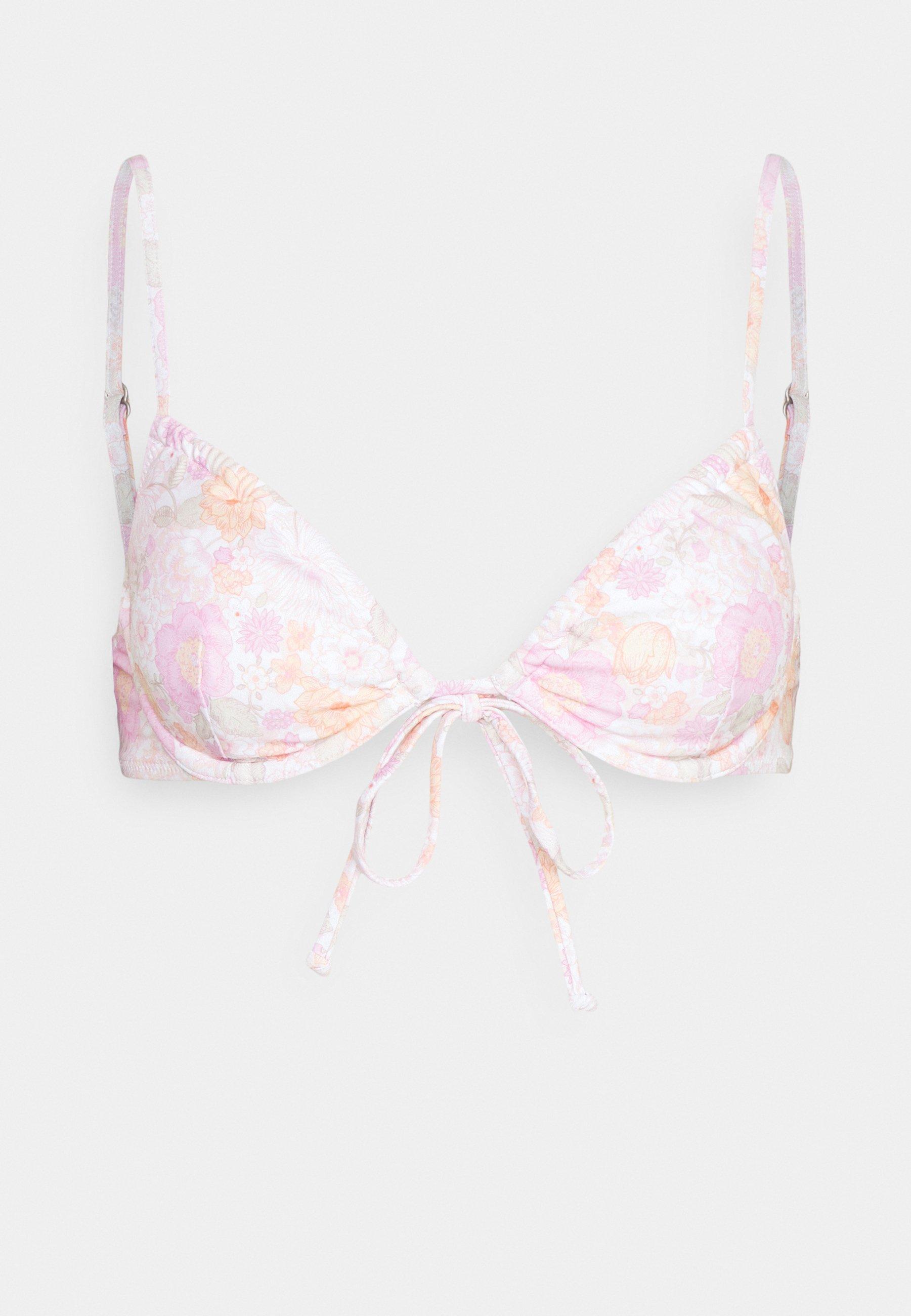 Women MELODY TIE FRONT UNDERWIRE - Bikini top