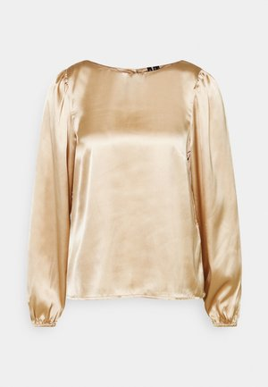 VMMADDIE BUTTON  - Bluser - gilded beige