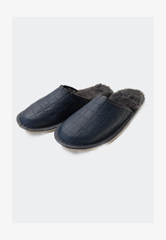 Domácí obuv - navy