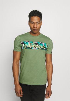 MORELA - T-shirt imprimé - light green