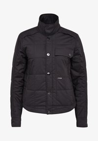 G-Star - QUILTED OVERSHIRT - Jas - black - 4