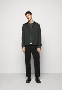 J.LINDEBERG - OLIVER  - Stickad tröja - dark grey melange - 1