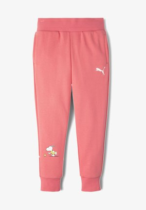 PEANUTS - Tracksuit bottoms - sun kissed coral