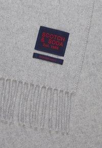 Scotch & Soda - CLASSIC WOVEN WOOL - Šála - grey melange - 3