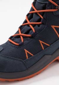 Lowa - JONAS GTX MID UNISEX - Winter boots - blau/orange - 2