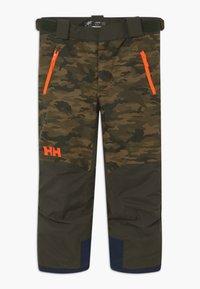 Helly Hansen - JR NO LIMITS 2.0 - Zimní kalhoty - olive - 2