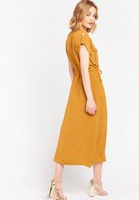 LolaLiza - Day dress - ocher - 2