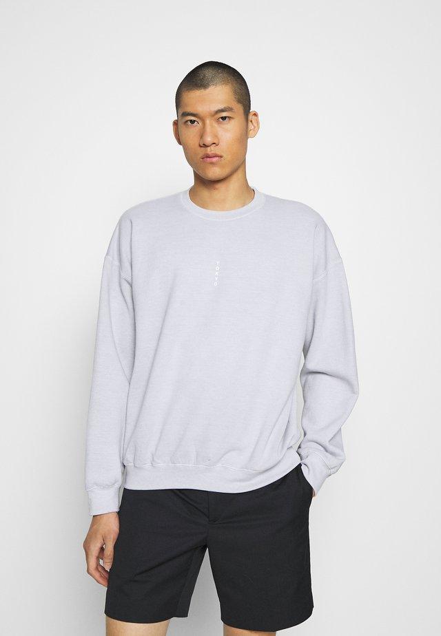 TOKYO PRINT - Sweatshirt - grey