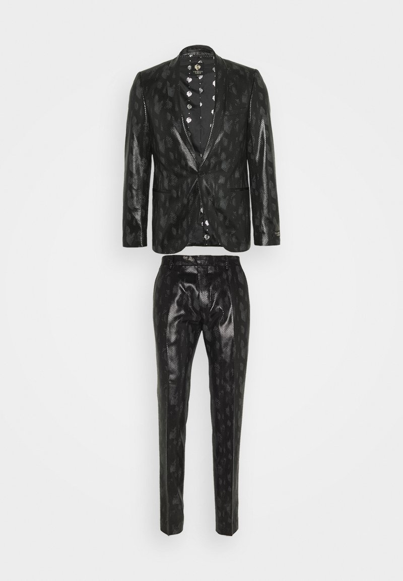 Twisted Tailor - FLEETWOOD SUIT - Oblek - black