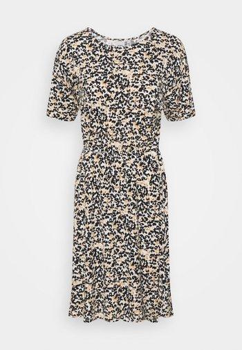 IHLISA - Jersey dress - tan