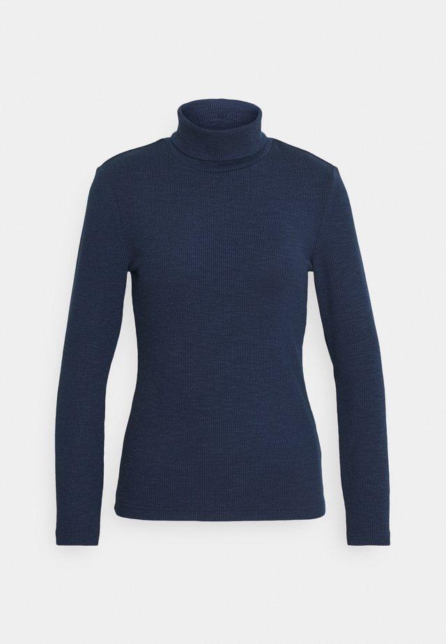 ONLJOANNA ROLLNECK - T-shirt à manches longues - peacoat