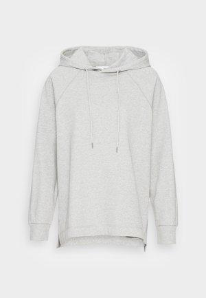SLFSTASIE HOOD SWEAT NOOS - Sweatshirt - light grey melange