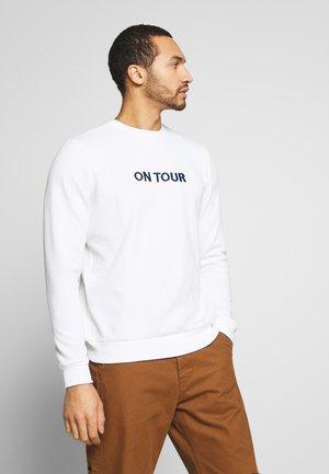 TANDAM - Sweatshirt - ecru/rich navy