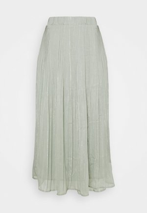 SENNA CARMA SKIRT - Pleated skirt - pale aqua