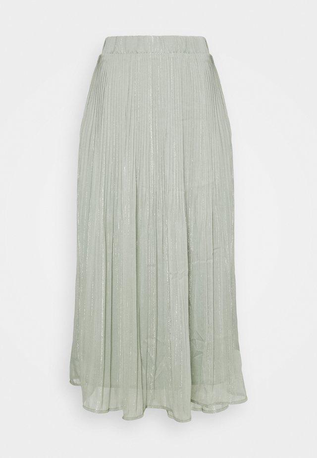 SENNA CARMA SKIRT - Pleated skirt - pale aqua