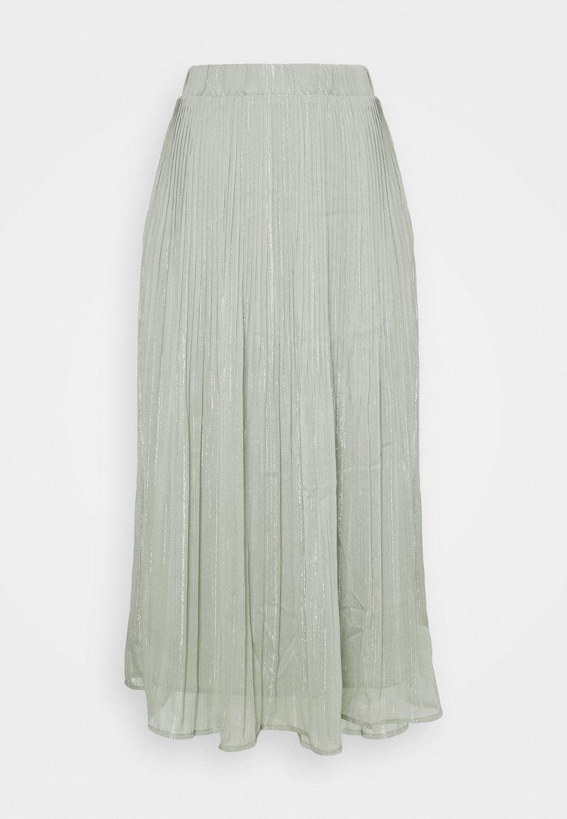 Bruuns Bazaar - SENNA CARMA SKIRT - Pleated skirt - pale aqua
