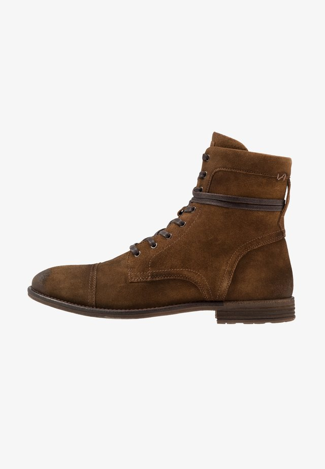ADREIN - Lace-up ankle boots - taupe