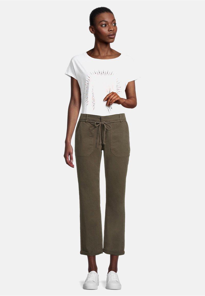 Cartoon - Trousers - dunkelgrün