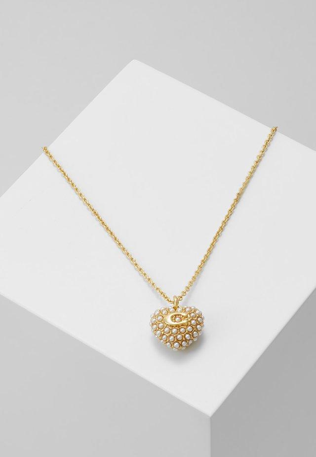 VINTAGE HEART NECKLACE - Necklace - gold-coloured