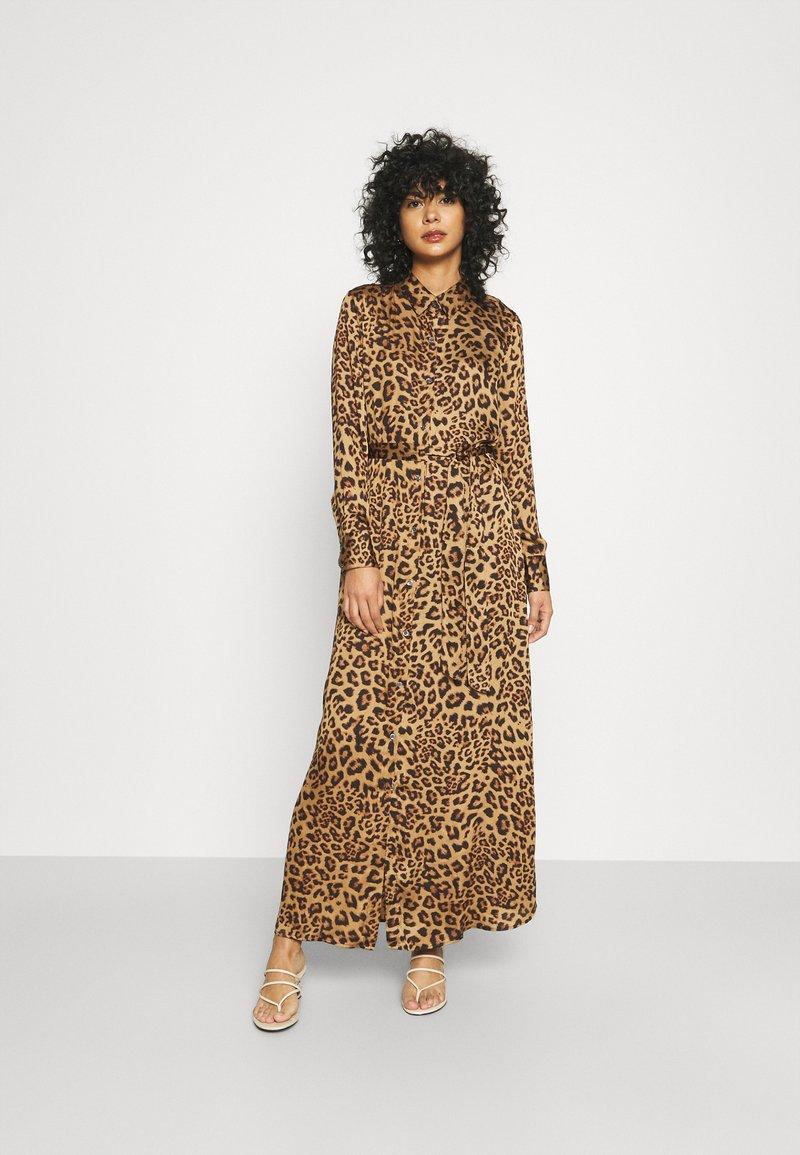 Banana Republic - ESSENTIAL DRESS  - Maxi dress - camel