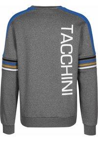 sergio tacchini - DANIEL  - Sweatshirt - dark grey melange/white - 1