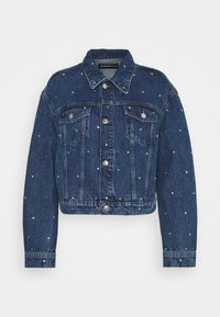 JACKET - Denim jacket - blue washed