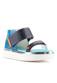 United Nude - VITA - Platform sandals - blue beat - 1