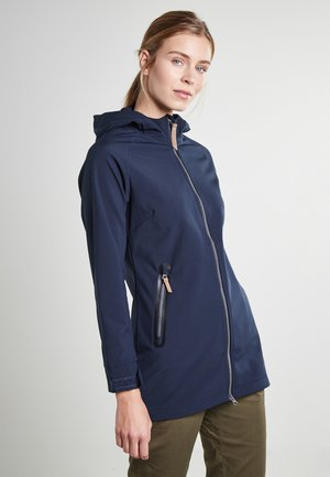 Soft shell jacket - dunkel blau