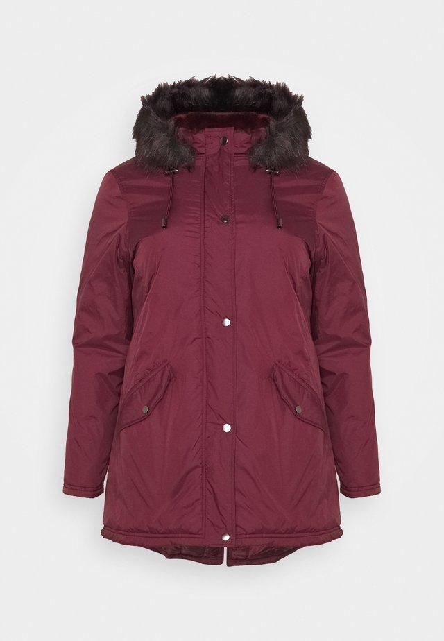 VALUE  - Classic coat - plum