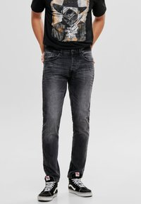 Only & Sons - WEFT - Jeans Relaxed Fit - black denim - 0