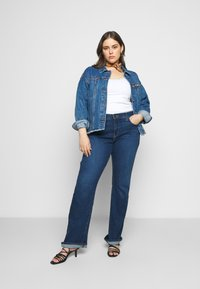 Missguided Plus - OVERSIZED JACKET - Giacca di jeans - indigo - 1