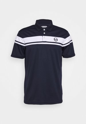 YOUNG LINE - Polo shirt - navy/white