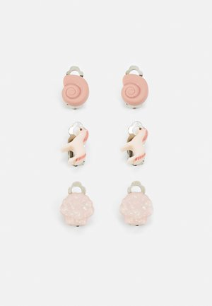EARCLIPS 3 PACK - Hair styling accessory - light pink