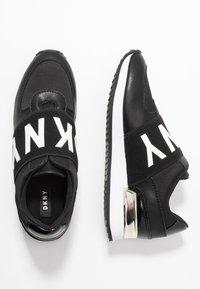 DKNY - MARLI - Nazouvací boty - black - 3