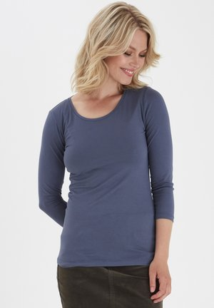 KIKSEN  - Long sleeved top - nightshadow blue