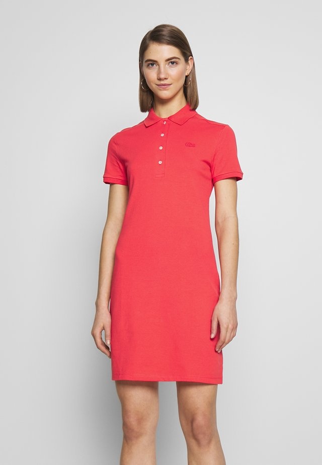 Day dress - energy red
