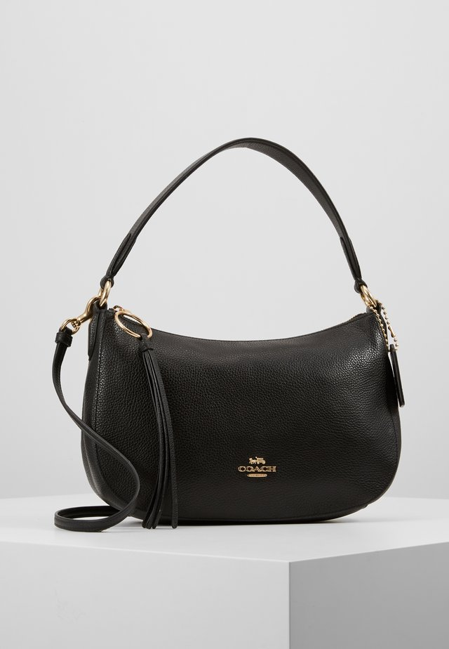 PEBBLE SUTTON CROSSBODY - Handtas - black