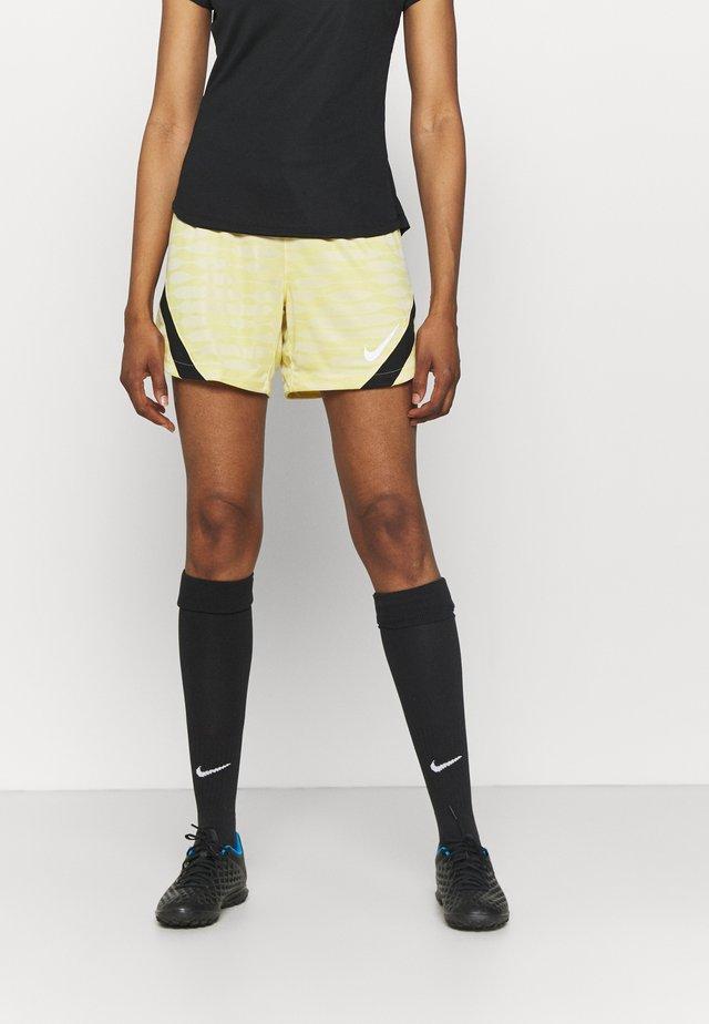 STRIKE 21 SHORT - Sports shorts - saturn gold/coconut milk/black/white
