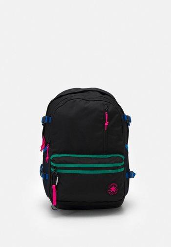 STRAIGHT EDGE UNISEX - Rucksack - converse black/hyper pink