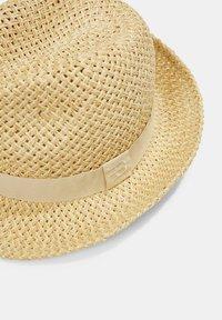 Esprit - MIT RIPSBAND - Hat - beige - 3