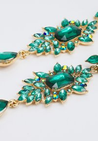 Pieces - PCSARALINN EARRINGS  - Ohrringe - gold-coloured/green - 2