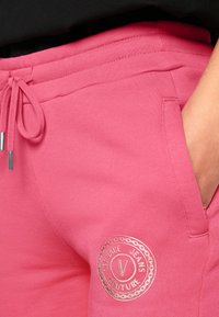 Versace Jeans Couture - PANTS - Tracksuit bottoms - pink - 7